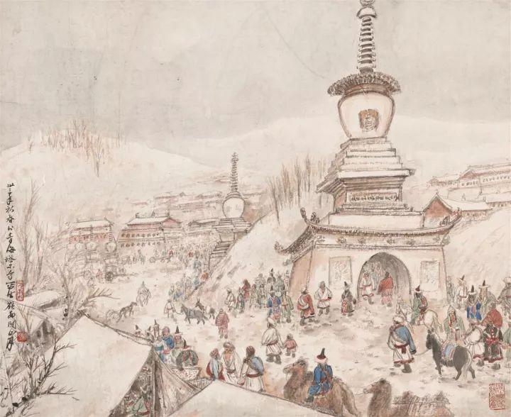 青海塔尔寺庙会之二