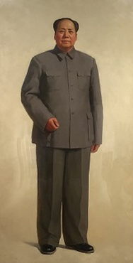《毛主席全身像》