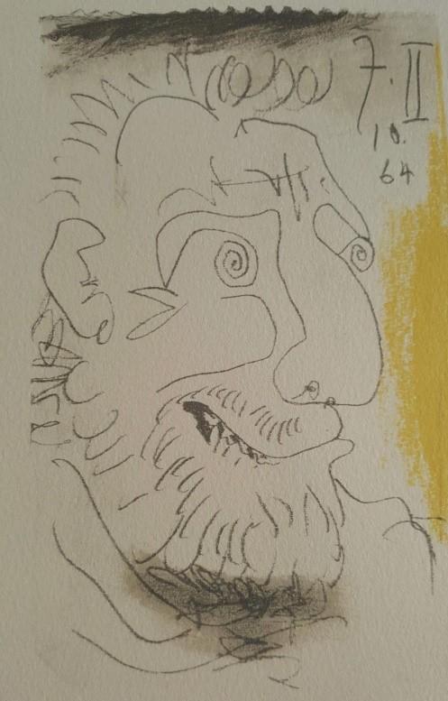 毕加索晚期画作一