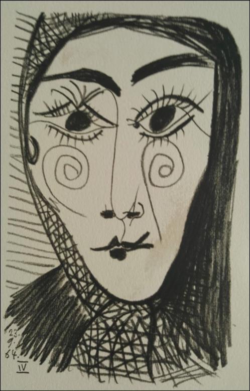 毕加索晚期画作二