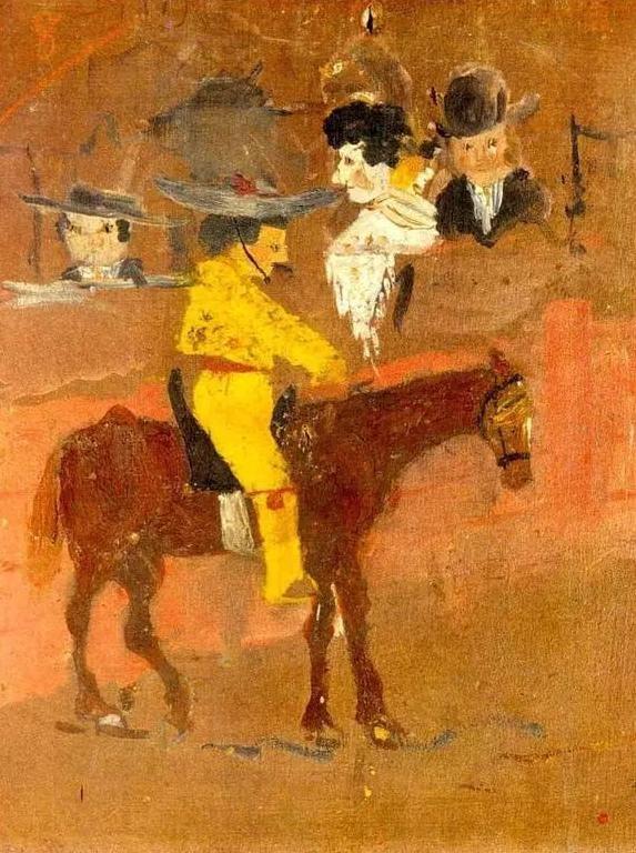 毕加索9岁时期作品