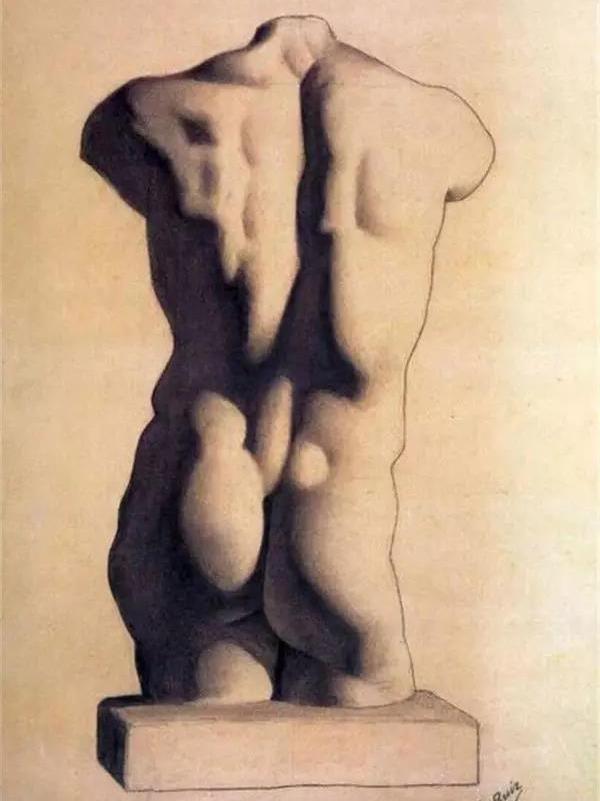 毕加索12岁时期作品
