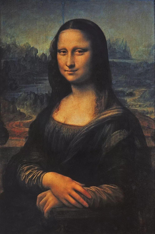 《蒙娜丽莎》