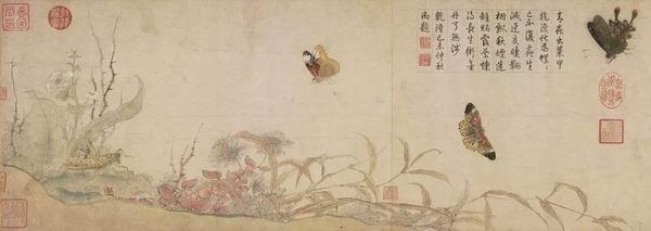 北宋 赵昌(传) 《蛱蝶图》卷