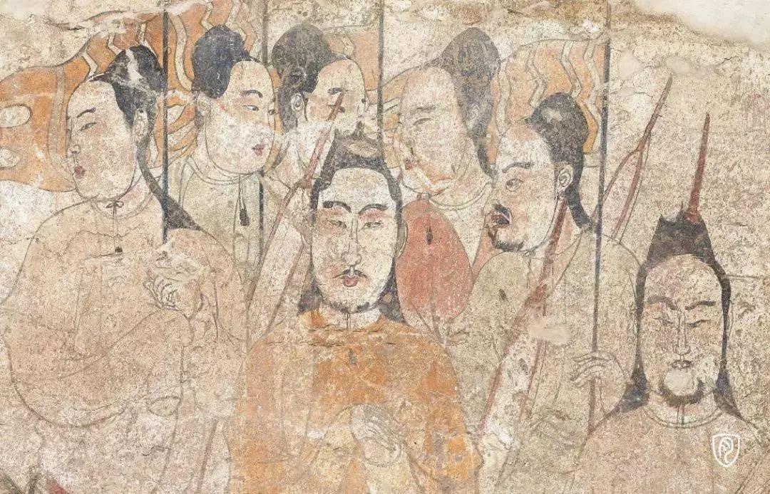 迎宾图(局部)