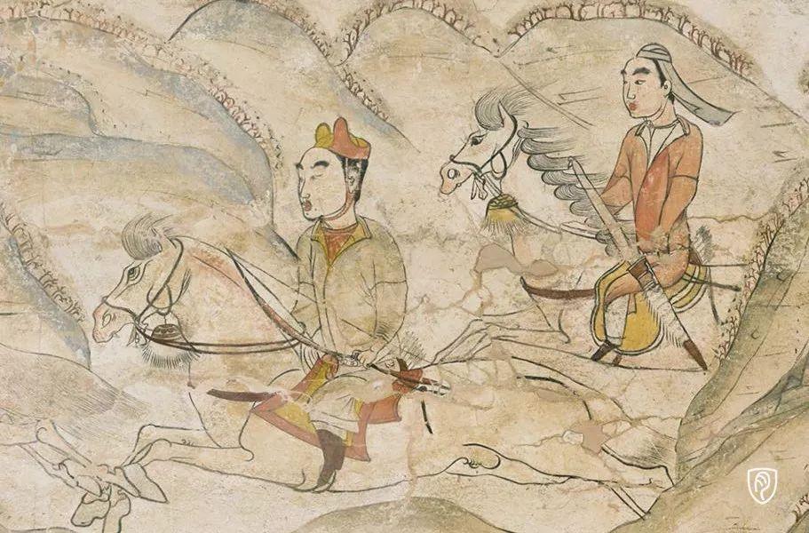 狩猎图(局部)