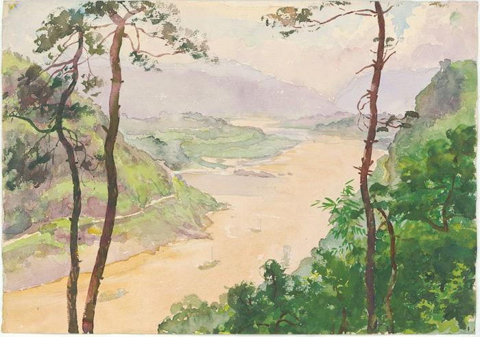 张安治 三峡风景