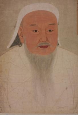 《元太祖成吉思汗像》