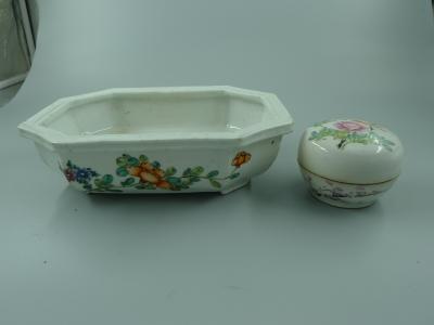 印泥盒、水仙盆