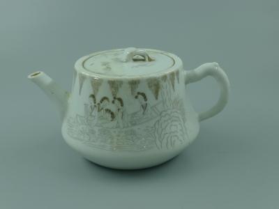 刻瓷人物纹壶