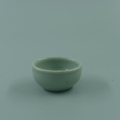 龙泉窑青釉罗汉杯