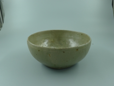 越窑青釉钵
