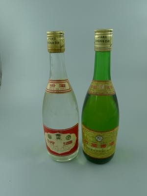 竹叶青、汾酒