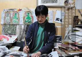 画家闫晓萍