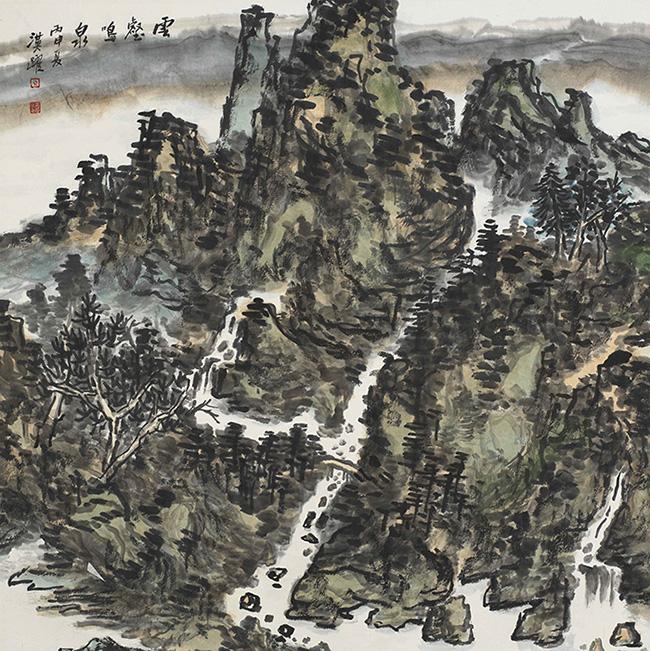云壑鸣泉 (2)