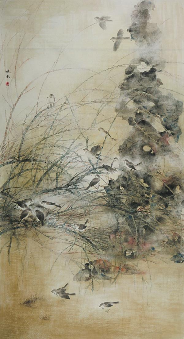 栖鸟恋旧林