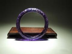 精品满工紫水晶镯子