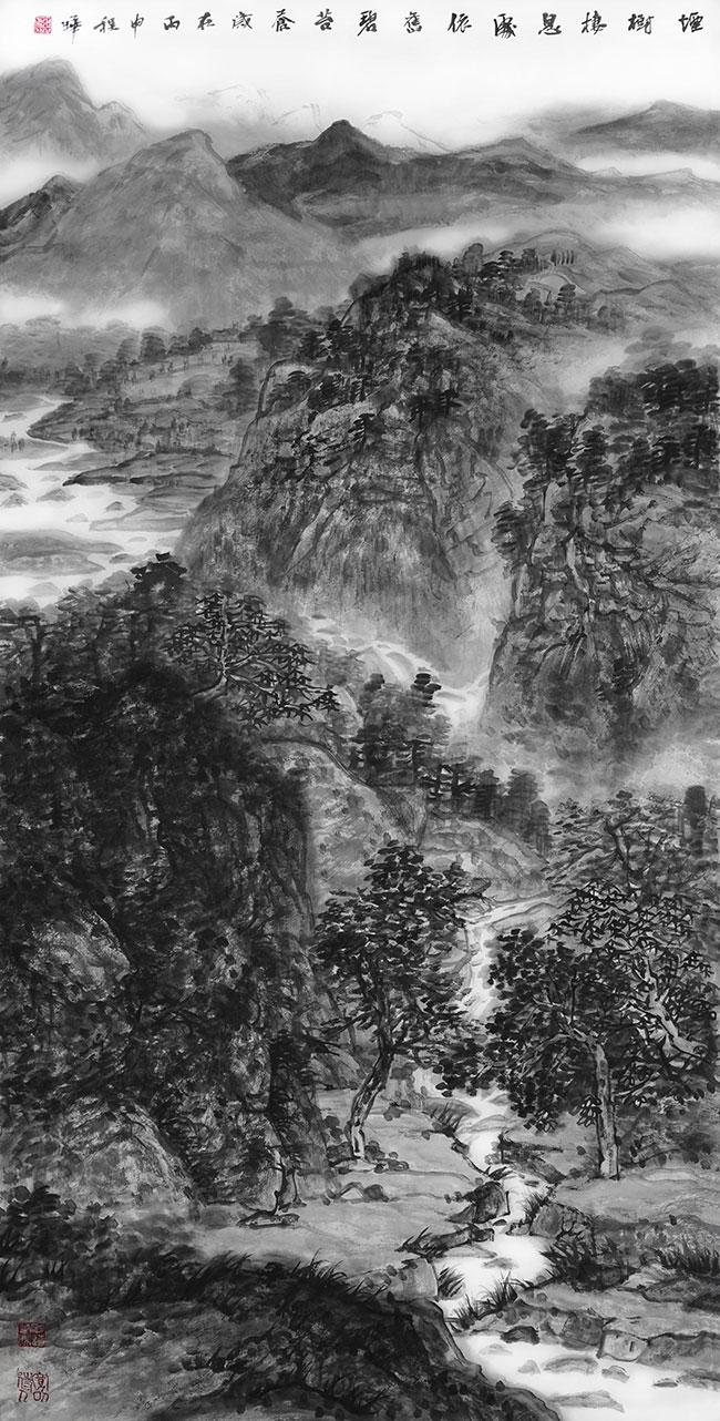 烟树栖息处