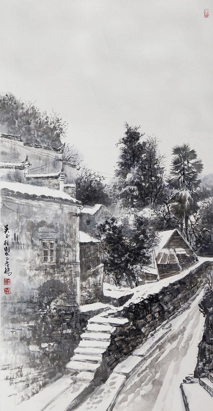 徽州忆梦·家乡的冬天