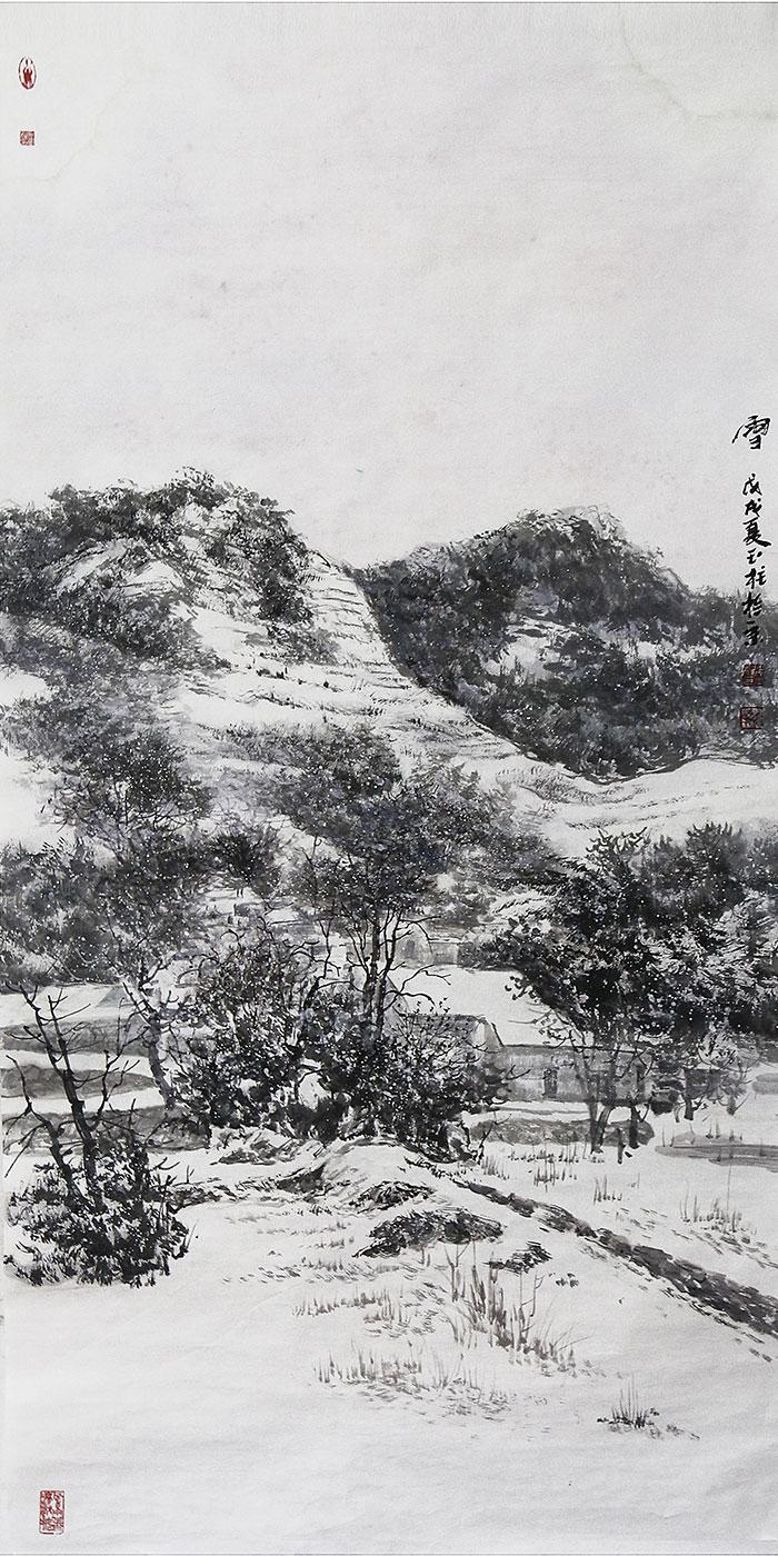 徽州忆梦·雪