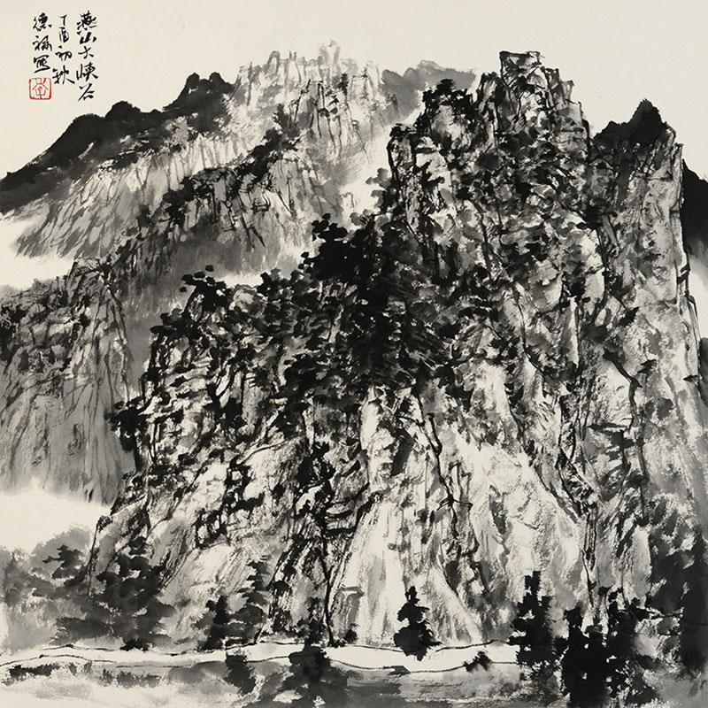 燕山大峡谷写生