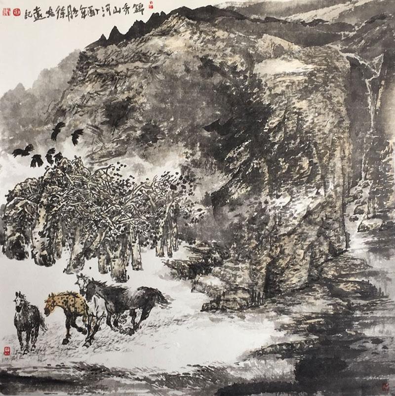 山水--锦绣山河