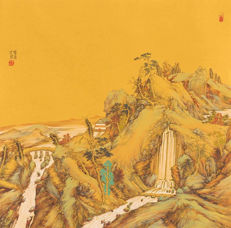 清泉照高林