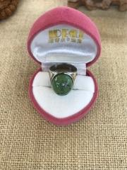 纯银戒托绿松石戒指5