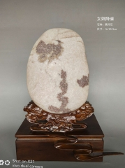 黄河石《女娲降雀》观赏石原石