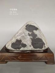 黄河石《子恺漫画》观赏石原石