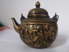 宣德年制八仙铜壶