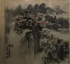 秦孝伟山水画